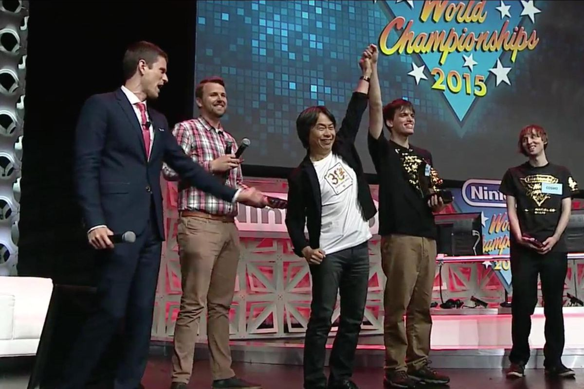 cosmo e john number nintendo world championship