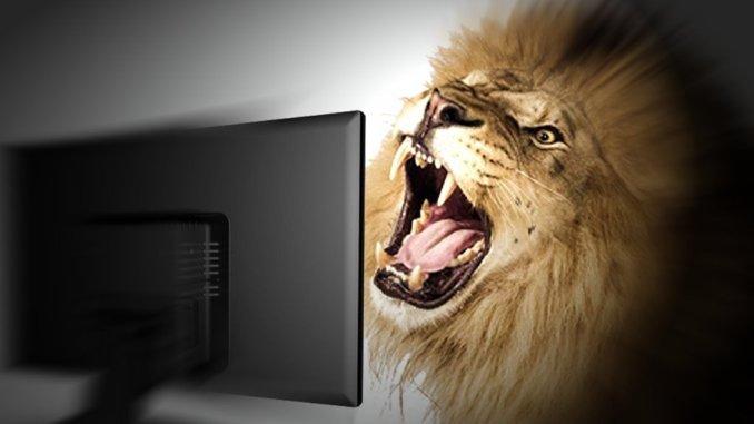 leone da tastiera diffamazione internet