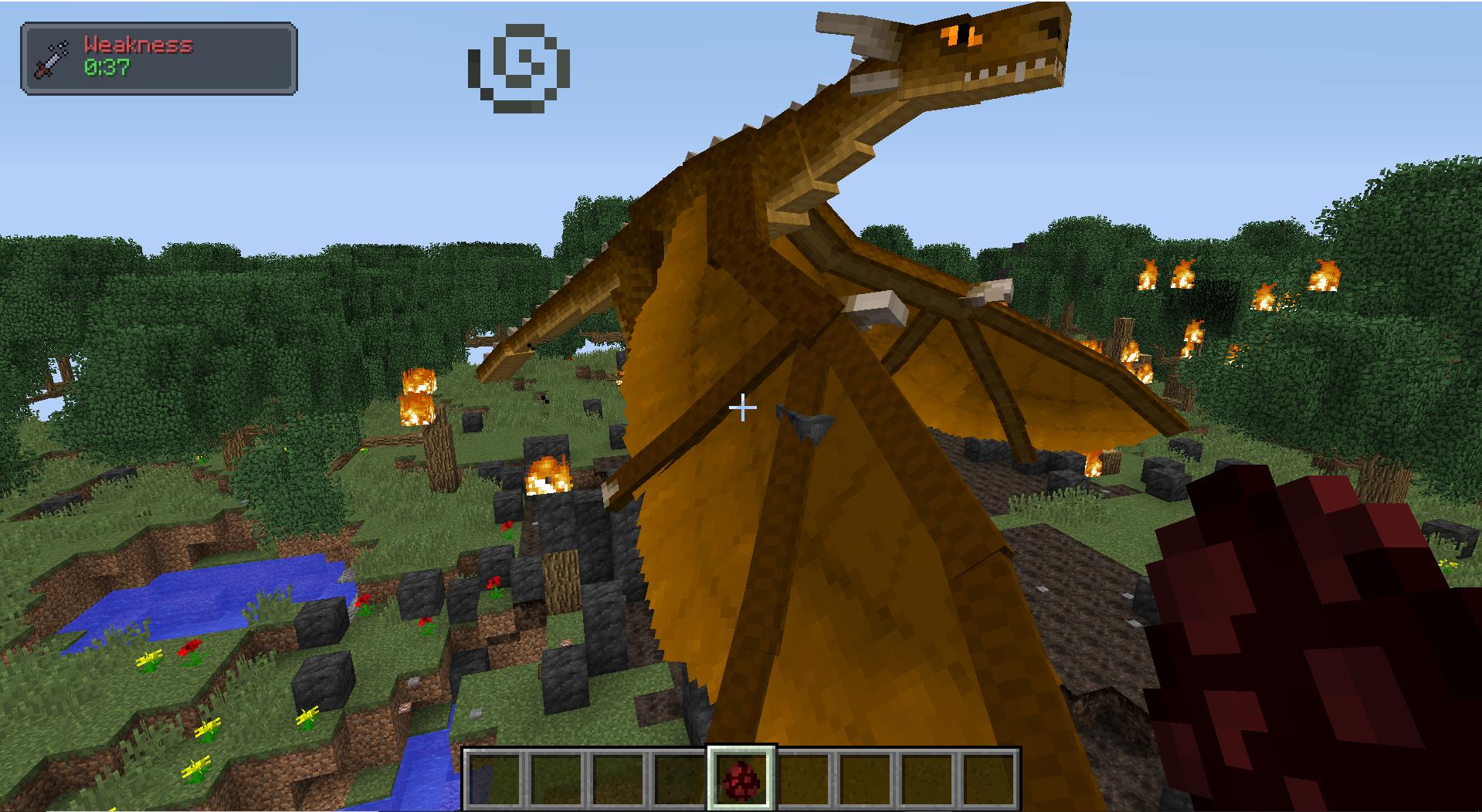 Un Drago, la creatura più distruttiva di RLCraft