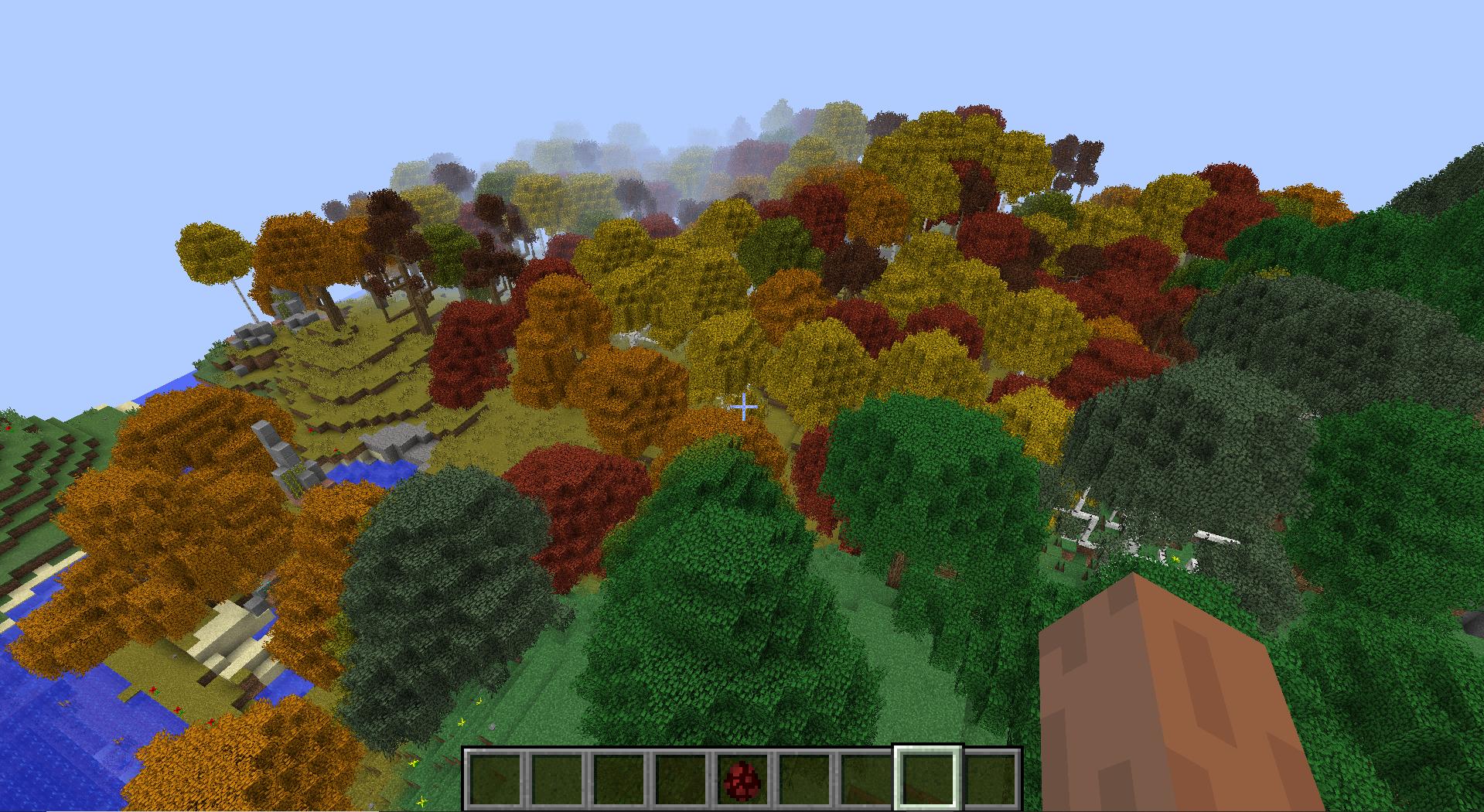 Le stesse foreste in RLCraft hanno molte variazioni rispetto al Vanilla Minecraft