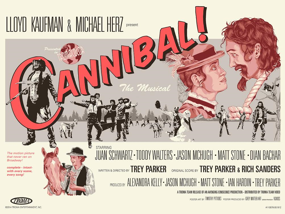 Un poster di Cannibal: The Musical