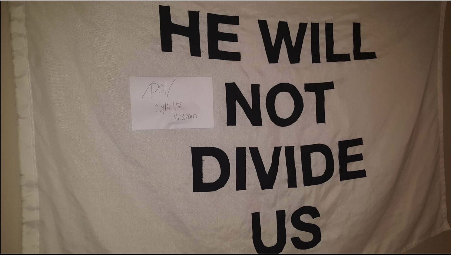 HWNDU_captured_flag he will not divide us