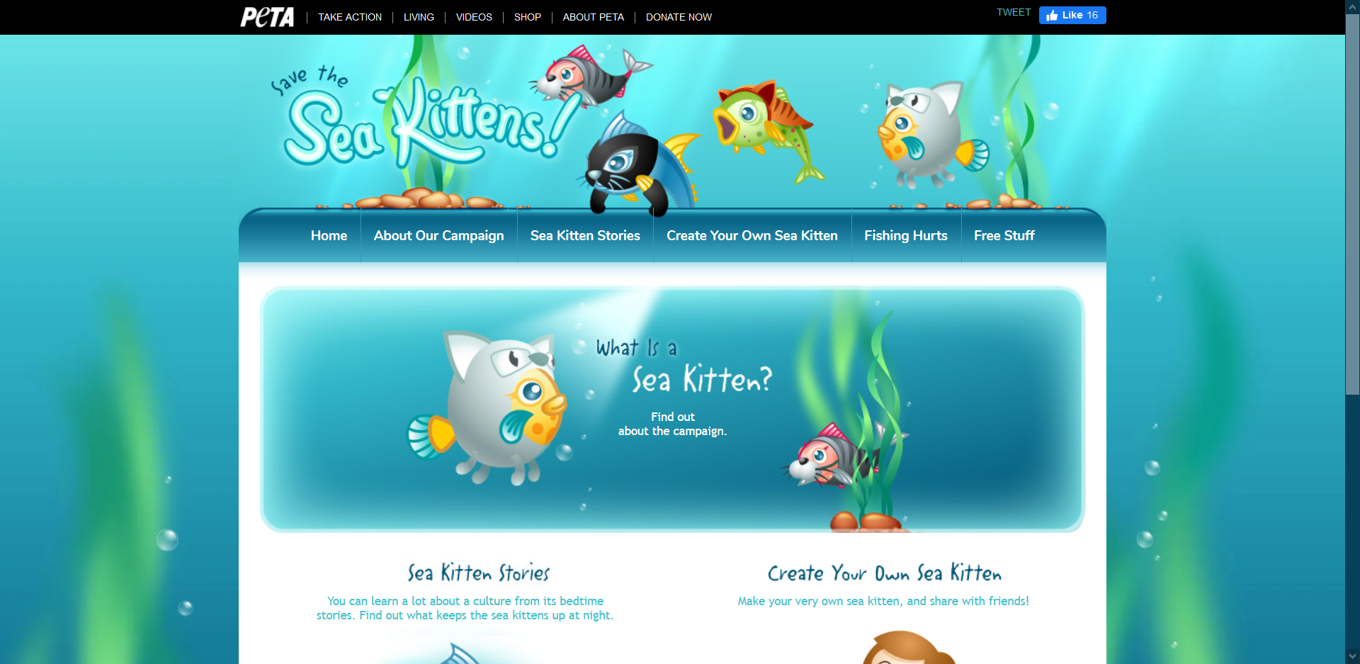 Save The Sea Kittens!
