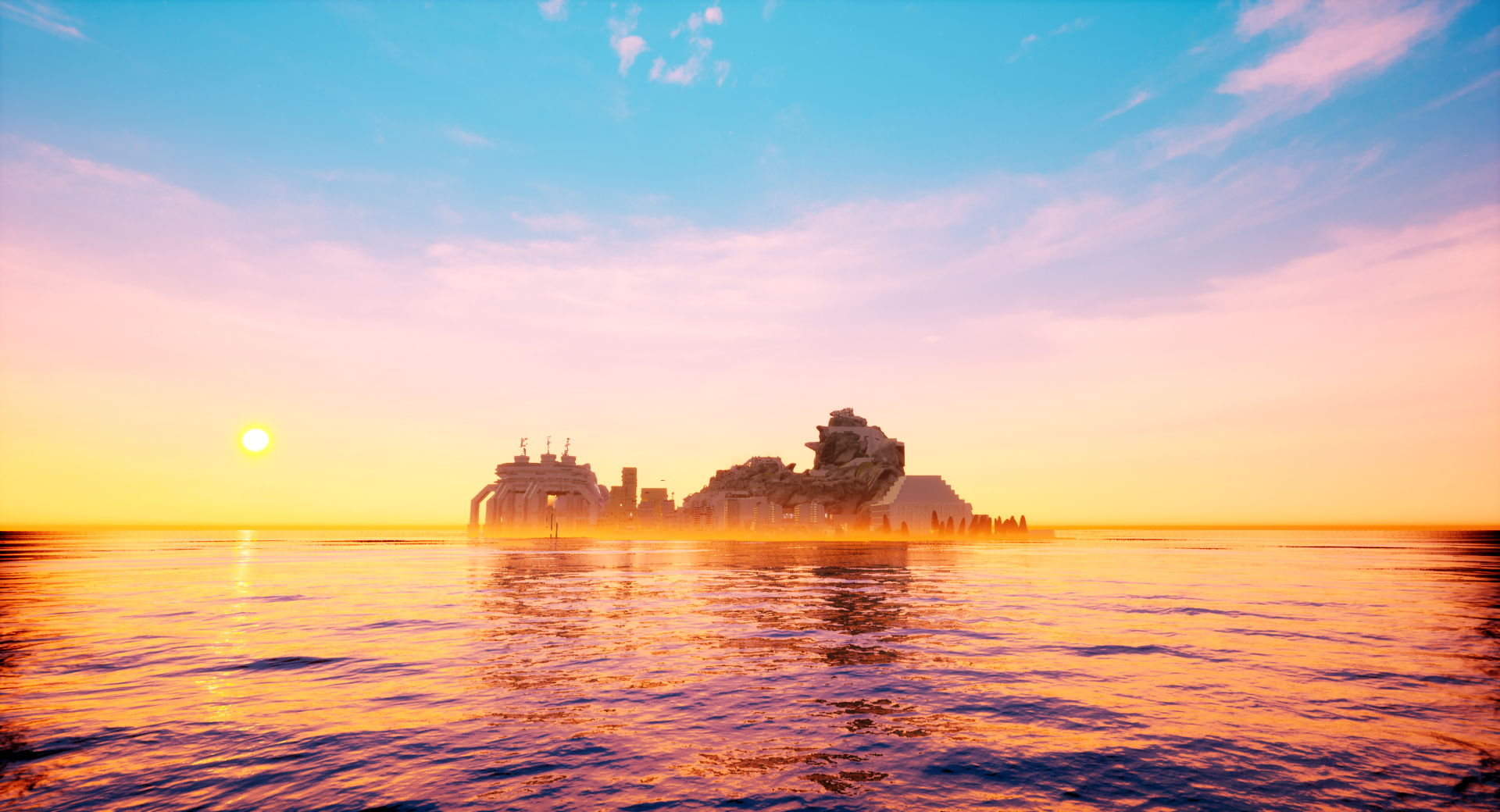 paradise killer island