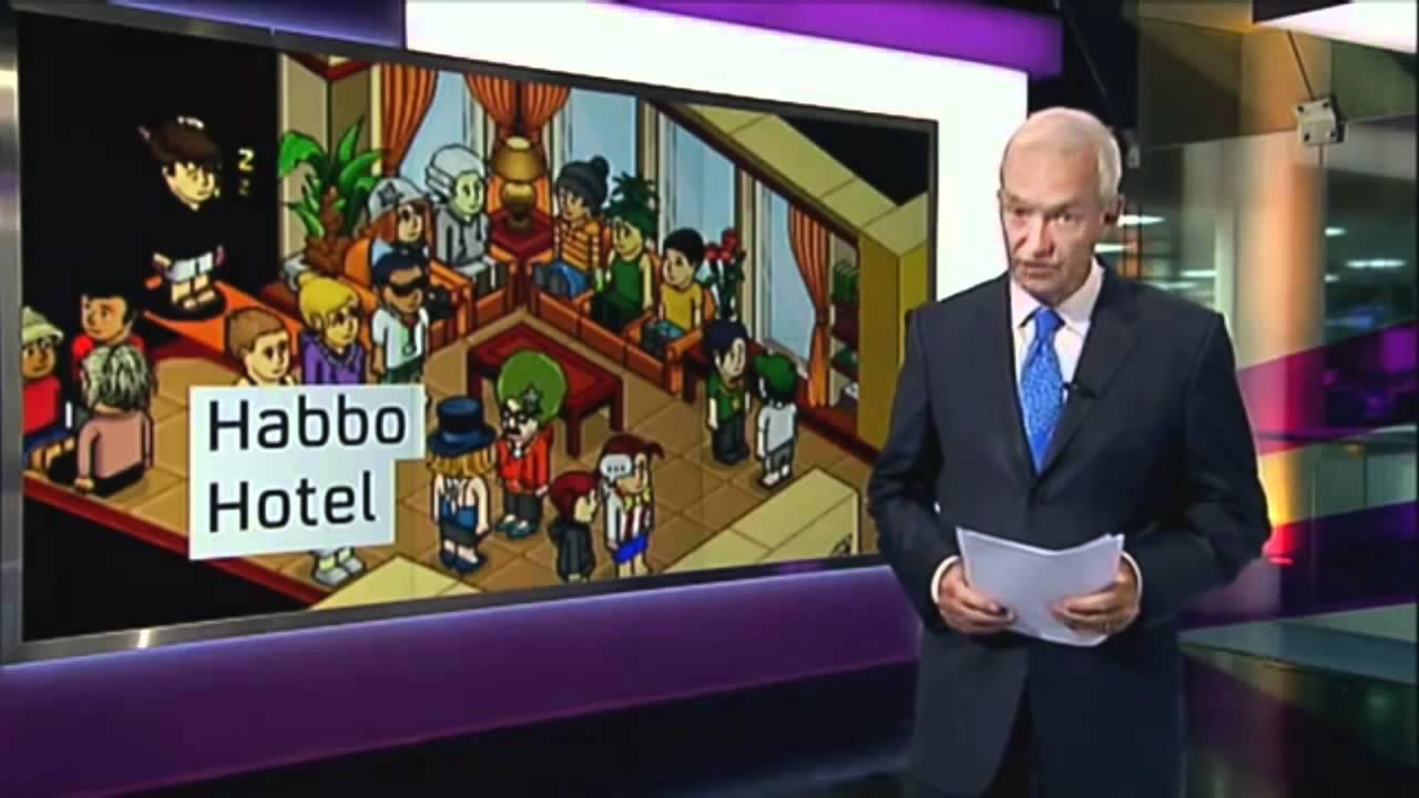 Habbo Hotel su Channel4 News