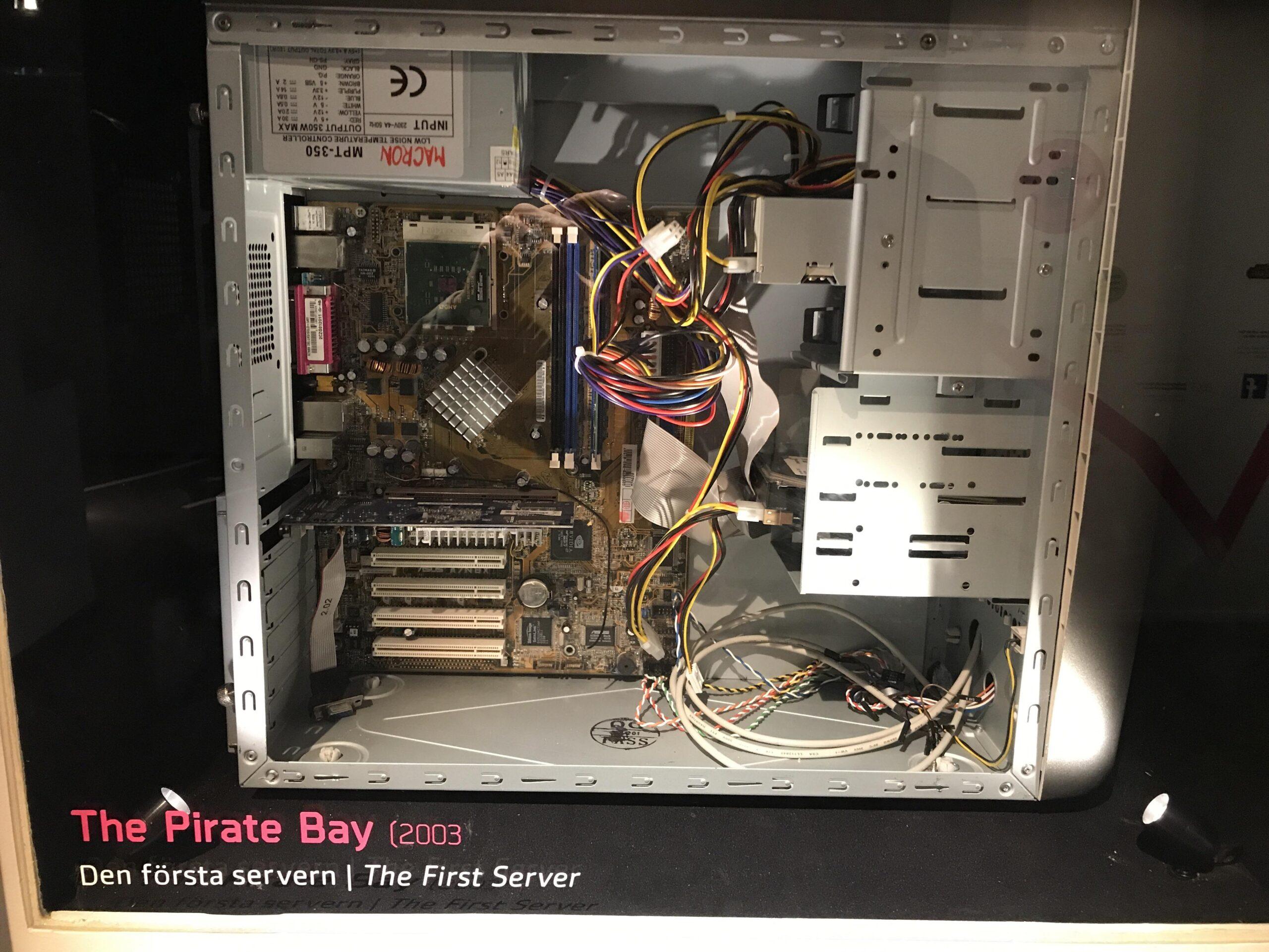 pirateria, piratebay, server