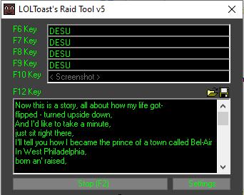 Screenshot del Pool Tool v5