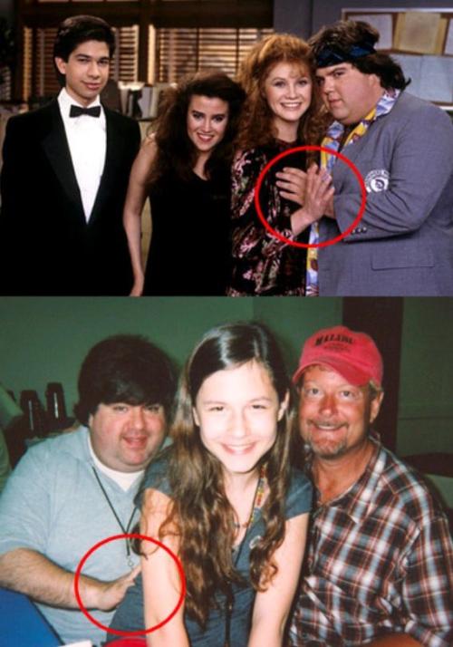 Due foto incriminate di Dan Schneider
