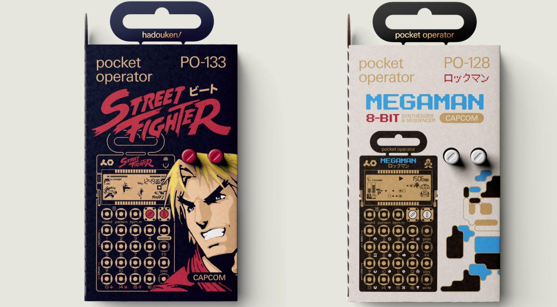 pocket operator capcom series