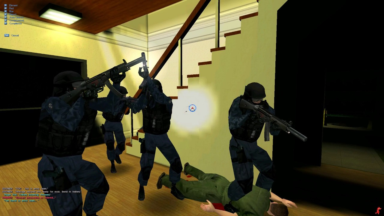 Screenshot di SWAT 3