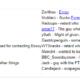 Organizzazione del CBCR secondo la wiki di Boxxy